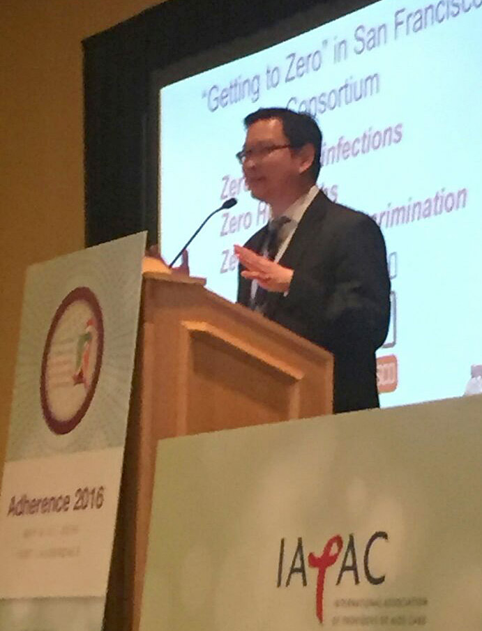Al Liu at IAPAC